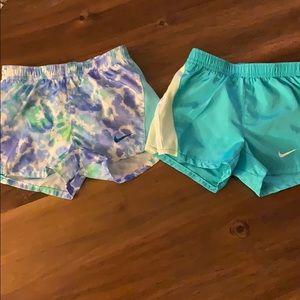 Toddler girl Nike Dri-Fit Shorts 2 pairs